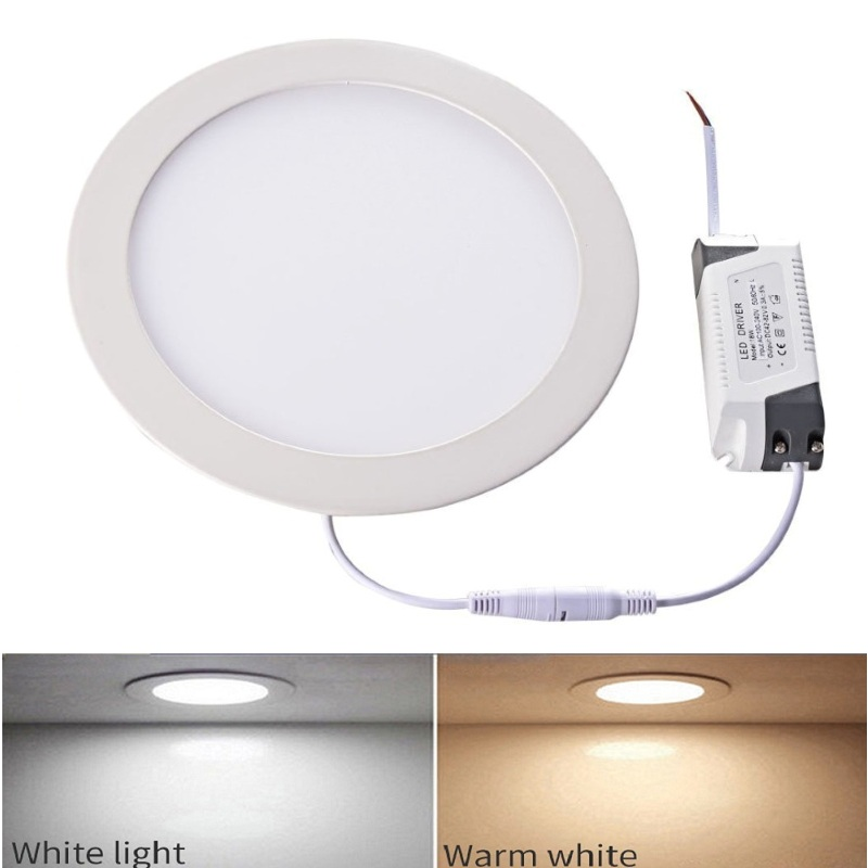 Dimmable CREE LED Recessed Ceiling Panel Down Lights 9//12//18W Warm White Lamp