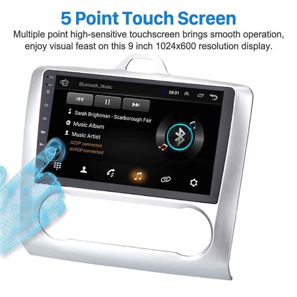 """Dla ford focus 2005-2014 EXI MT 2 3 MK2/MK3 samochodowy odtwarzacz multimedialny 9 """"Android 8.1 Radio samochodowe z OBD2 GPS WiFi 3G/4G BT DBA +"""