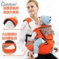2-30 Meses Transpirable Multifuncional Frontal Frente a la Porta Bebé Sling Backpack Infantil Cómodo Bolsa Abrigo Del Bebé Canguro
