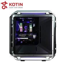 GETWORTH S14 الراقية I9 سطح المكتب I9 7900X ASUS GTX1080Ti إنتل 400 جرام SSD بارد الخلفية مياه التبريد قرصان RM750X tridentZ