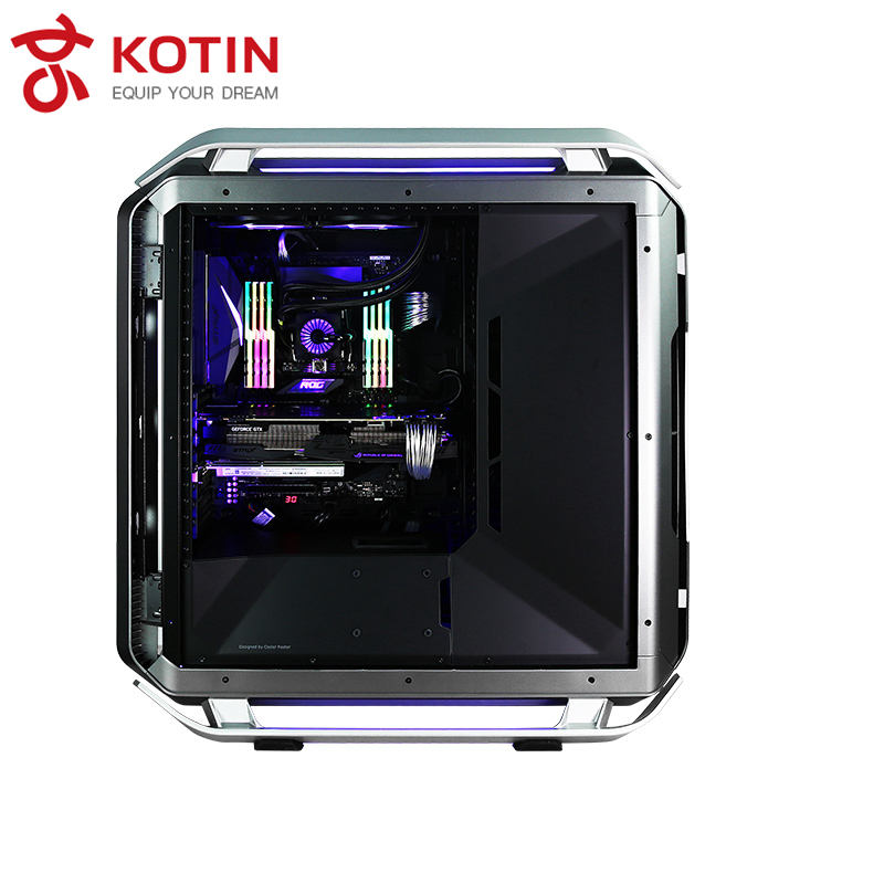 GETWORTH S14 High End I9 Desktop I9 7900X ASUS GTX1080Ti Intel 400 г SSD Прохладный Подсветка водяного охлаждения CORSAIR RM750X tridentZ