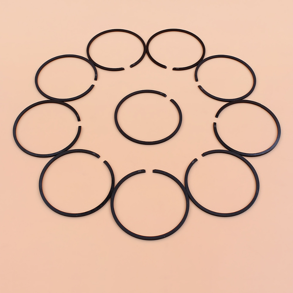10Pcs/lot 42.5MMx1.2MM Piston Ring Fit STIHL 025 MS250 MS 250 Chainsaw Spare Parts 1123 034 3006