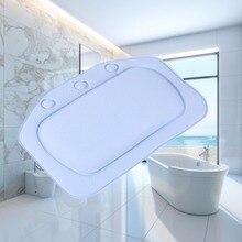Подушка для ванны спа Нескользящая Ванна мягкий подголовник водонепроницаемый ПВХ ванны подушки с присосками Ванна Подушка аксессуары для ванной комнаты