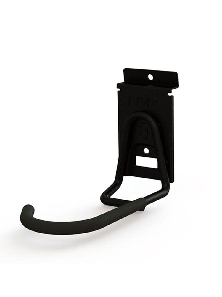 Black Heavy Duty Slot Bike Hook Wall Stand Holder Vertical Bicycle Hanger Hanging Storage Rack For Garage Shed Organization