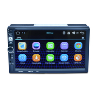 Car Navigation with Europe map Android Car Media Player Bluetooth A2DP Touch Screen Wifi Audio FM/AM/USB/SD
