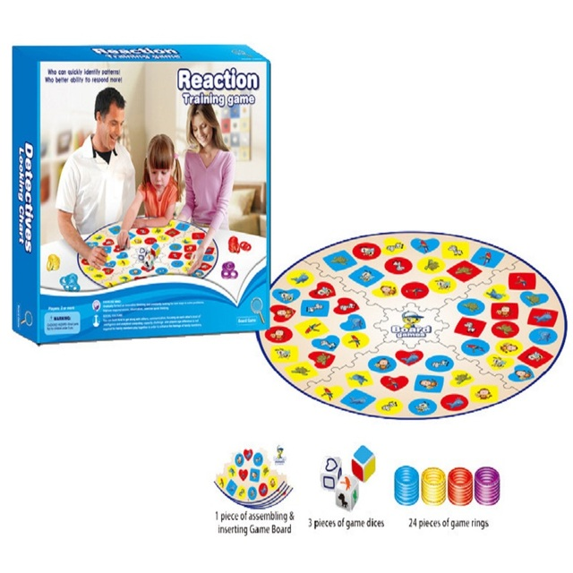 Education Training Intlligence Toys Table Board Game Parent-child Family Game Colorful Children Patry Game D245