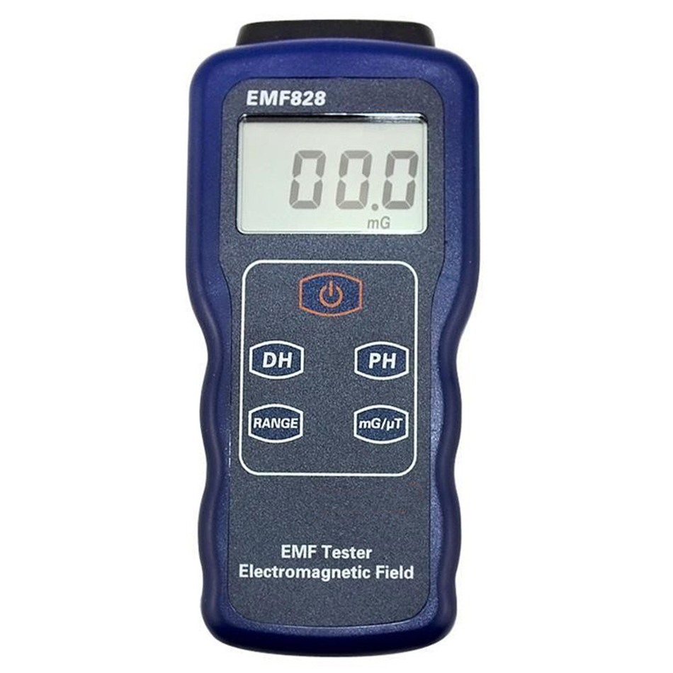 EMF828 EMF Tester Low Frequency Electromagnetic Filed Intensity Meter For Power Wire Computer Monitor TV Radiate Waves цена