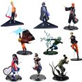 1pc/lot High Quality Naruto Actions Figures 9 Styles Anime Kaksshi/Ben/Shikamaru/Naruto/Pein Figure Toys PVC Collections 18cm