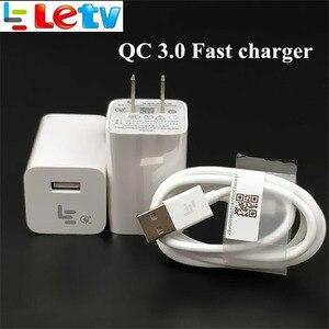 Image 2 - Chargeur rapide dorigine LETV LEECO LE s3 x626 Pro 3 Smartphone QC 3.0 adaptateur dalimentation à Charge rapide et câble de données Usb 3.1 de Type C