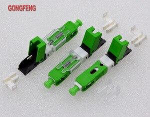 Image 5 - GONGFENG למכור חם חדש 100 יחידות סיבים אופטיים מהיר מחבר קר FTTH מצב יחיד SC UPC/APC מחבר מהיר סיטונאי מיוחד