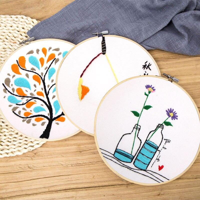 3 piezas, DIY fácil bordado venta para principiantes múltiples ...