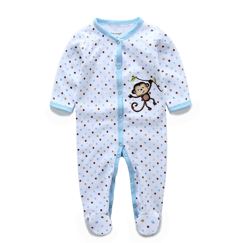 Newborn Baby Romper overalls Long Sleeve Cotton body bebe Baby boy girl clothes