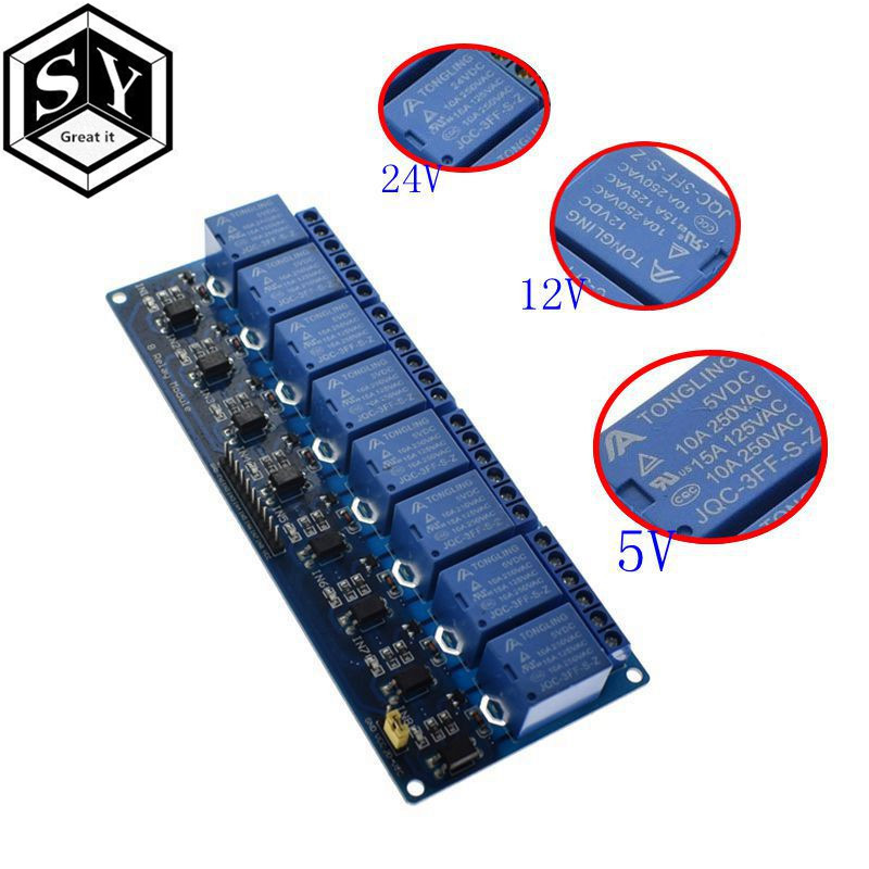 ⑧ Popular relay 24v board arduino and get free shipping