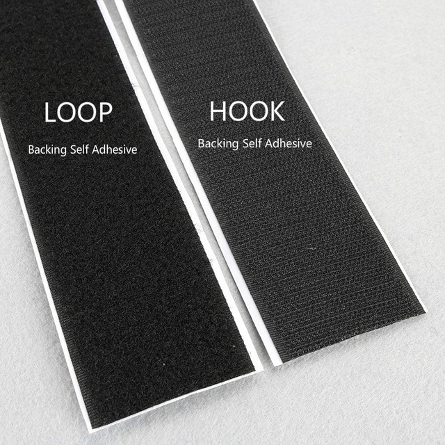 Loop And Hook >> 2 High Quality 50mm Width 2 Meters Hook Loop Strong Backing Self