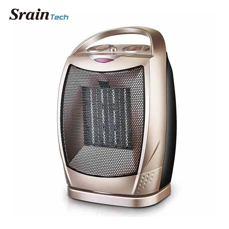 Sraintech Ventilador Elétrico Patio Heater 1500 W para Home Sala de Aquecimento de Ar Mais Quente Dispositivo de Aquecimento Doméstico Aquecedor Elétrico Ventilador De Calor