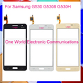"""Черный Белое Золото 5.0 """"для Samsung Galaxy Grand Prime G530 G5308 G530H Сенсорный Экран Сенсорный Панели Дигитайзер Датчик Переднее Стекло Объектива"""