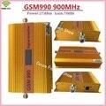 GSM Alto ganho 70dbi 27dBm Potência GSM990 900 MHz Amplificador de Sinal Celular Impulsionador Repetidor de Sinal de Telefone Móvel GSM ALC com LCD