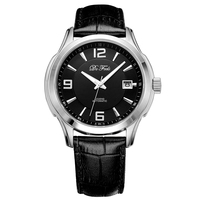 DE FEELS Men Original Brand NH35 Movt Mechanical Watch Automatic Self wind 5atm Waterproof Business Man Wrist Watch Timepieces