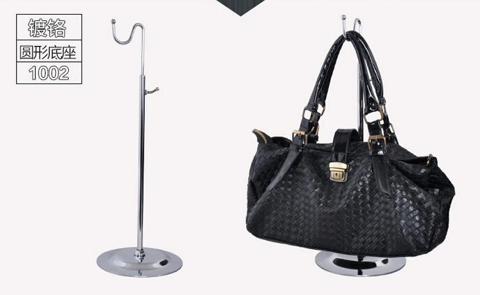 Single Curved Hook Light Hanging Bags Adjustable Handbag Rack