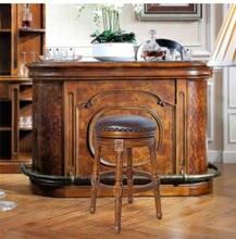 Европейский и американский стиль высокий барный стул из массива