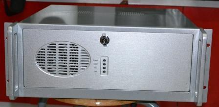 Silver 4U industrial cabinet aluminum panel silver 4U server case monitor case new 4u industrial computer case 4u server computer case pc motherboard