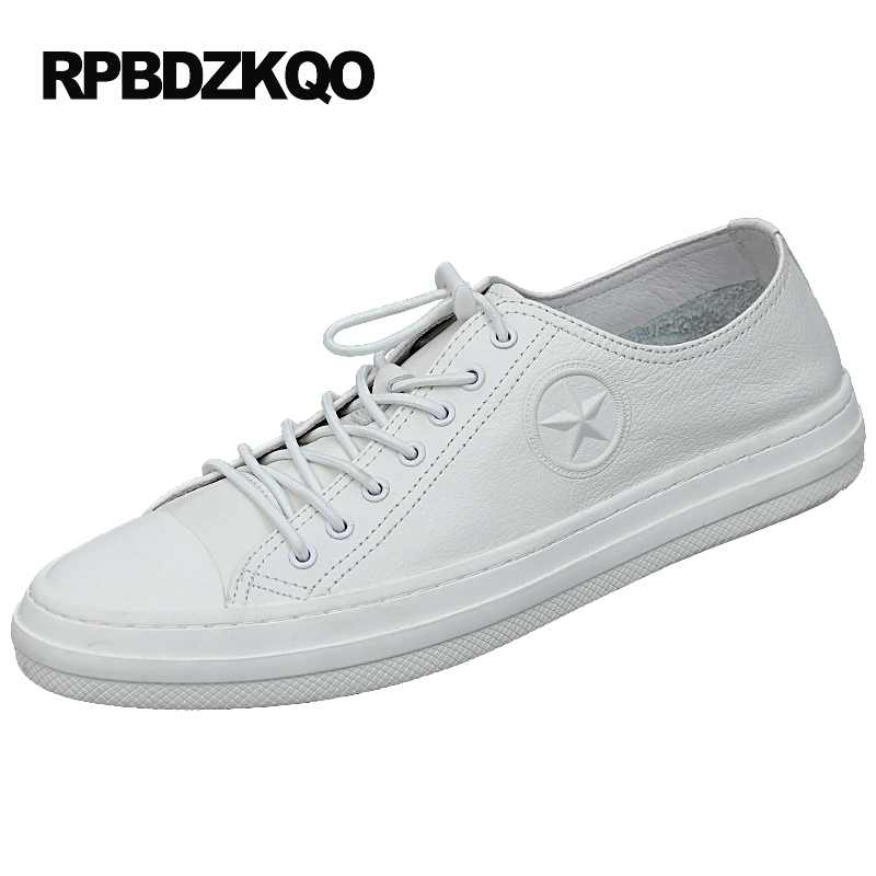 Skate Platform Latest Footwear Fashion White European High Quality Sneakers Men Real Leather Lace Up Shoes Cow Black Hip Hop js 11 чайная пара роза рафаэлло pavone