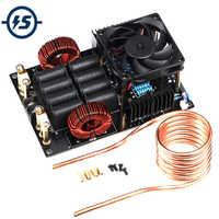 Generator wysokiego napięcia wysokiej częstotliwości niskonapięciowa nagrzewnica indukcyjna ZVS 1000W płyta z cewką do topienia metali DC 12-40V 50A 1KW