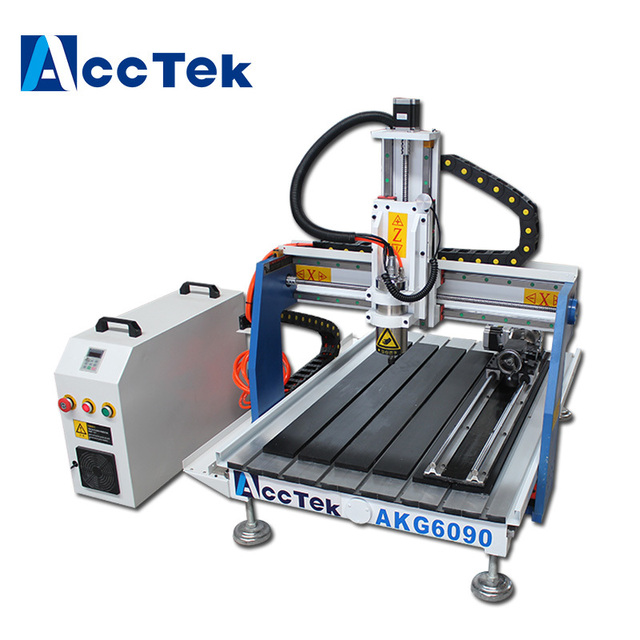 Sale Mini Cnc Router 60906040 4 Axis Cnc Milling Machine With Factory Price