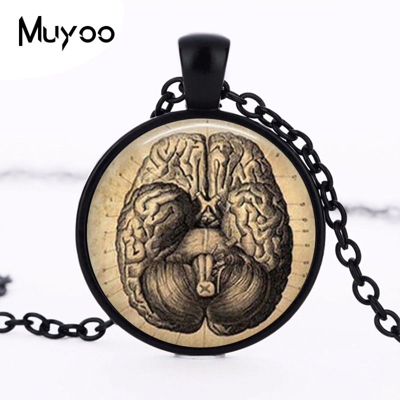 Aliexpress.com : Buy New Steampunk Vintage Brain pendant Anatomy ...