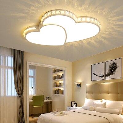 Новые Современные светодиодные люстры в форме сердца для гостиной, спальни, столовой, приглушенный светильник, люстра, потолочный светильн