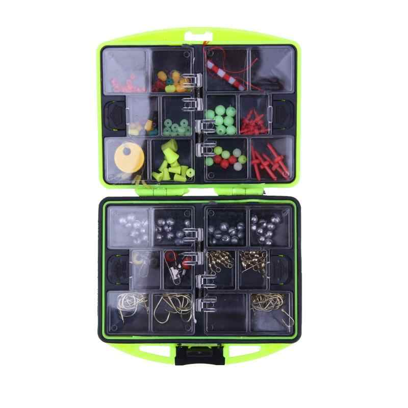 24 Multifunctional Fishing Tool Set Tackle Box Full Loaded Lure Bait Hooks Fishing Tackle Boxes EA14