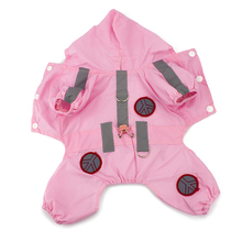 Waterproof Raincoat with Hood for Small Dogs