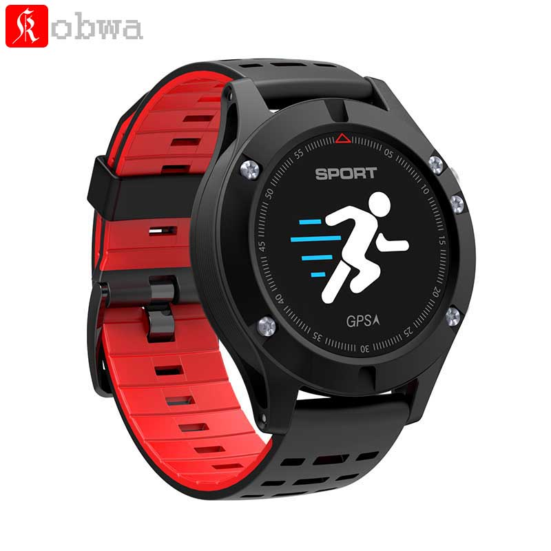 Kobwa F5 Multifunctional Colorful Screen Smart Sports Watch Outdoor Waterproof Smartwatch Built-in GPS for iOS Android Phone ezon outdoor sports for smart gps watches running male multifunctional 5atm waterproof electronic watch g1 black