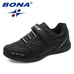 Image 2 - BONA החדש קלאסיקות סגנון ילדי נעליים יומיומיות וו & לולאה בני נעליים חיצוני הליכה Jooging סניקרס נוח משלוח חינם