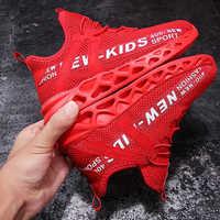 Baskets de course Enfant automne enfants chaussures de Sport Tenis Infantil garçon Basket chaussures léger respirant fille Chaussure Enfant