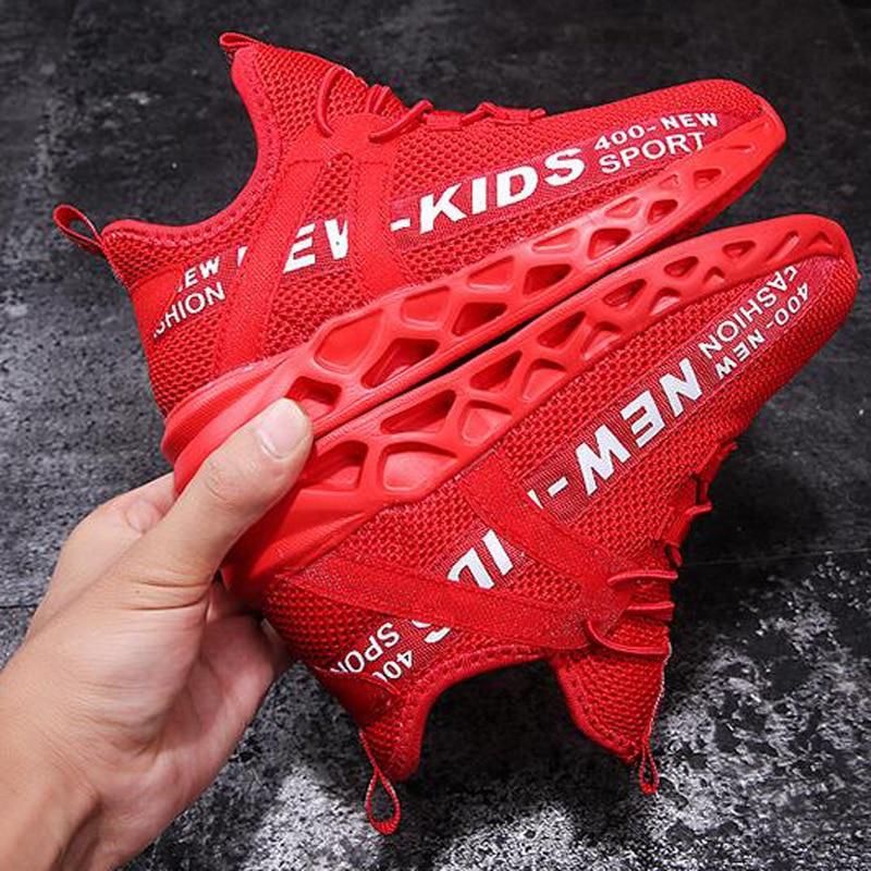 Kid Running Sneakers Autumn Children Sport Shoes Tenis Infantil Boy Basket Footwear Lightweight Breathable Girl Chaussure Enfant