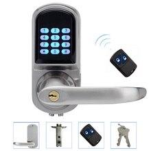 Cerradura electrónica de Control Remoto, contraseña, Llave mecánica, Digital Inteligente de Entrada Sin Llave Inteligente de Bloqueo L & S L16071BSRM