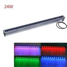 ФОТО wholesale-free shipping 10pcs 24w led wall washer light outdoor led light waterproof ip65 led flood lights 1000*46*46mm