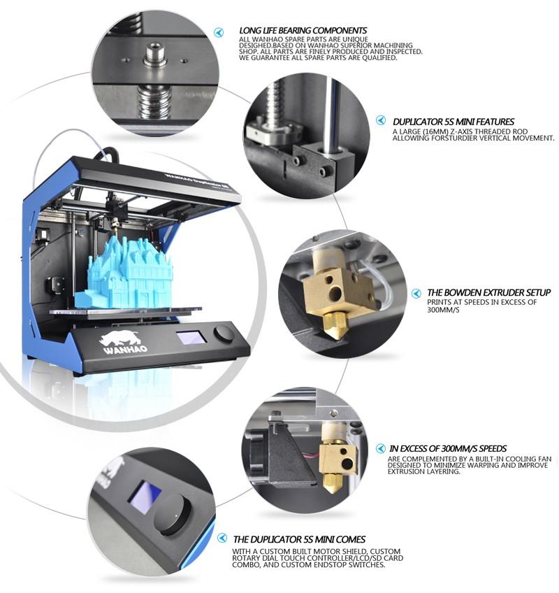 3D Printer-High Precision Printer-5th Generation 3D Printer-3
