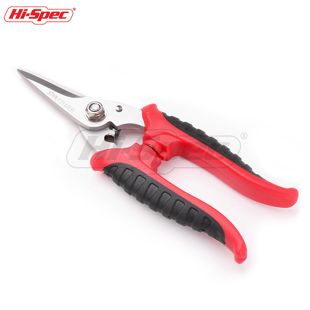 Hi-Spec Multitool Electrician Scissors Stainless Steel Shears Groove Cable Wire Cutter Thin Steel Plate Hand Tools Tesoura