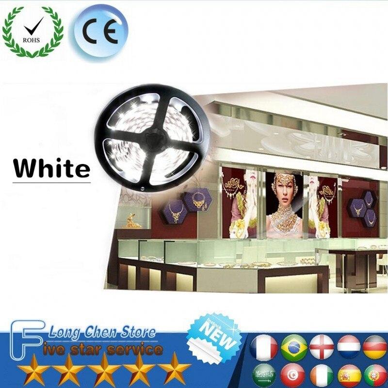 LED Strip Lighting 5V/12V/20V 1M 5M 60LEDs/M Warm Cool White Green Blue Red SMD3528 Ribbon Ceiling Cabinet Christmas LED Strip