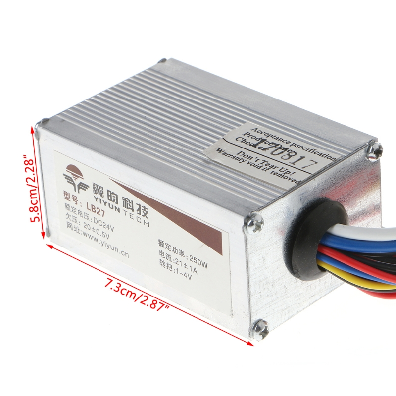 DC 24V 250W Motor Speed Brush Controller For Electric Bicycle Bike Scooter G07 Great Value April 4