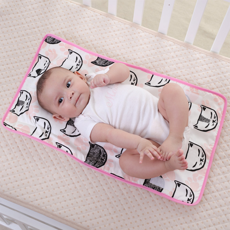 Baby Care Baby Portable Foldable Washable Diaper Changing Pad Urine Mattress Mat Baby Diaper Nappy Bedding Cover Waterproof Changing Mat