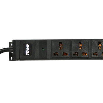 "TOWE PDUs Cabinet Power Distribution unit Power Strip EN16/W1201 16A 12 WAYS universal GB2099.3 PDUs 19"" Vertical installation"