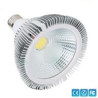 12ピースxのwholsale高電力par30/par38 15ワット/20ワットled電球COBE27 ledスポットライトpar 30ライトランプac90-260v暖かい|コールドホワイト