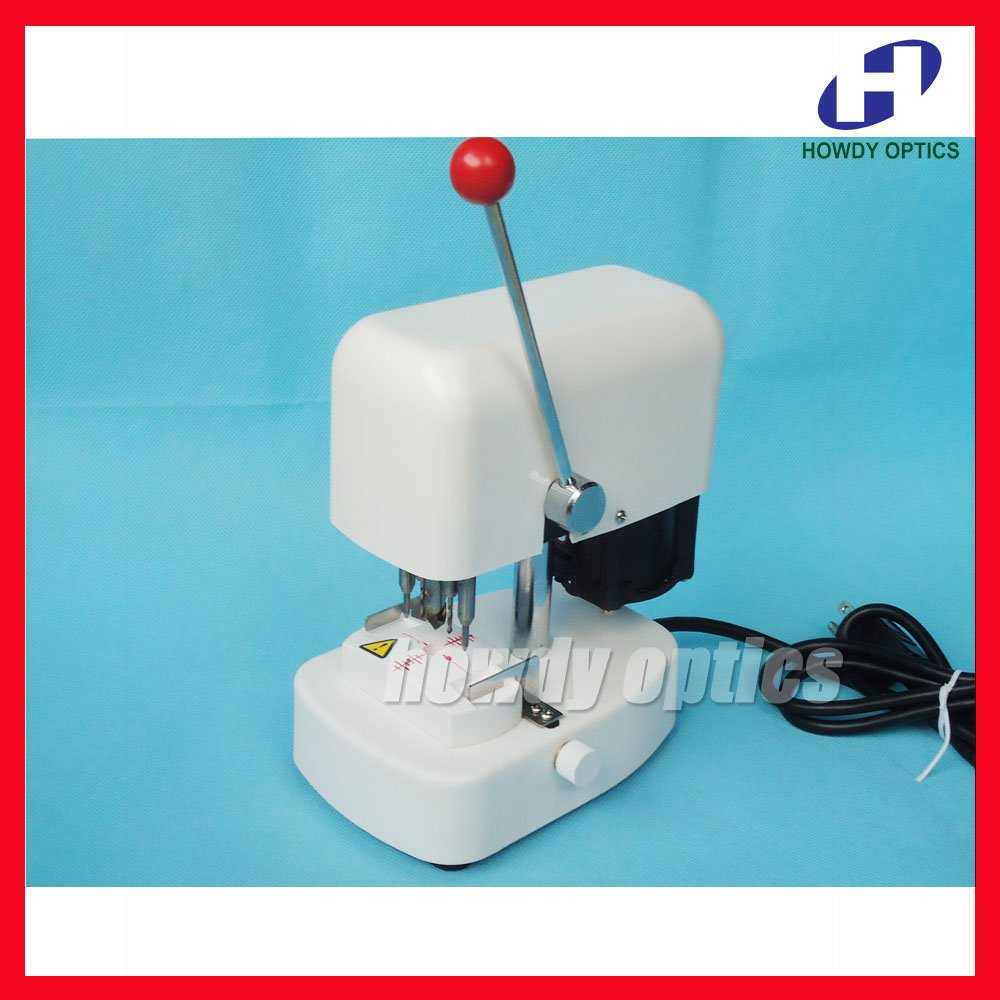 LY 918AT Pattern lens drilling machine Optical lens driller Demo lens use