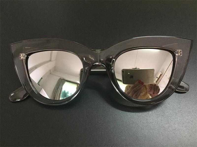 HTB18eEeRFXXXXcCXVXXq6xXFXXXa - Women's cat eye sunglasses ladies Plastic Shades quay eyewear brand designer black pink sunglasses PTC 221