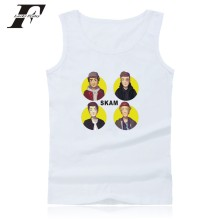 LUCKYFRIDAYF Skam Vest Norway Summer Sleeveless T-shirt O Neck Cotton Shirt Tank Top Men Fitness 4XL Casual Homme Soft Clothing