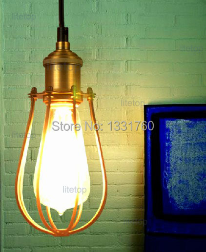 NEW Marconi Small Cage light vintage pendant lamp metal suspension lighting American country style RH loft light трикси игрушка для собаки осел ткань плюш 55 см page 6