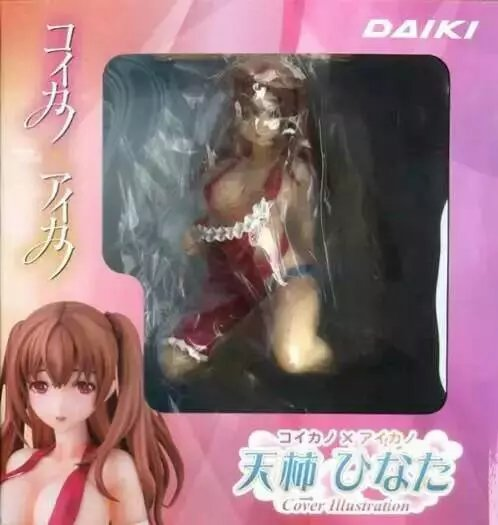 Hot Sale Daiki Figurine Koikano <font><b>x</b></font> Aikano 2 Cover Illustration Hinata Amagaki Super <font><b>Sexy</b></font> 16.5 CM PVC Figure image